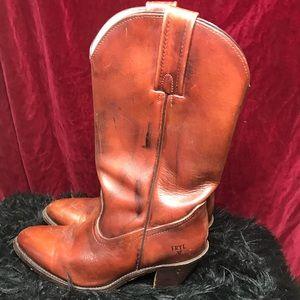 Frye cowboy boots size 9B